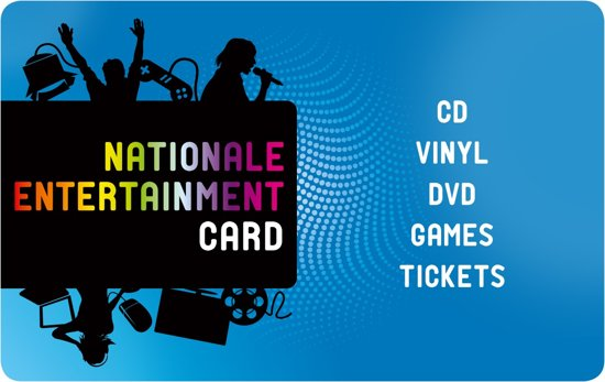 Nationale EntertainmentCard - 25 euro