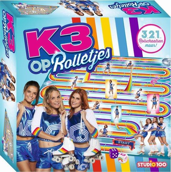 K3 : spel - op rolletjes