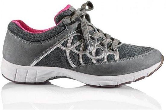 Gabor sport series 64.350.49 grijs mesh/nubuck sneaker