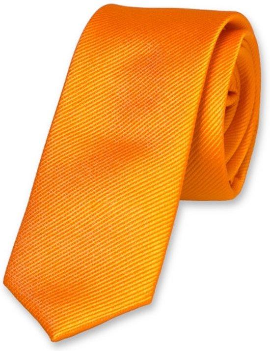 E.L. Cravatte Kinderstropdas - Oranje - 100% Zijde
