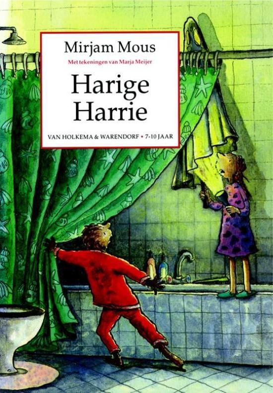 Cover van het boek 'Harige Harrie' van Mirjam Mous