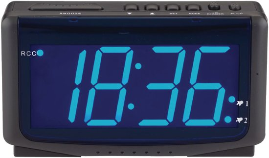 Balance Time Wekker Radiocontrol