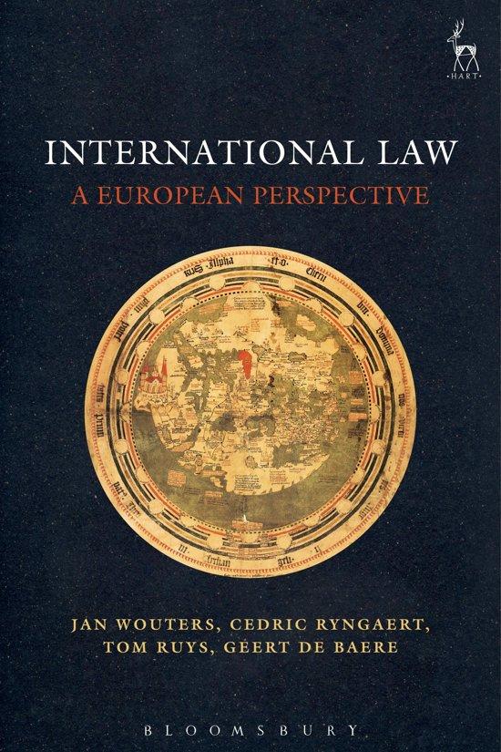 Boek cover International Law van Jan Wouters (Onbekend)