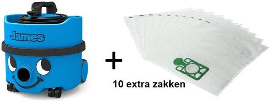 Numatic James Stofzuiger Voordeel Pakket - JVP180-11 + GRATIS 10 extra stofzakken