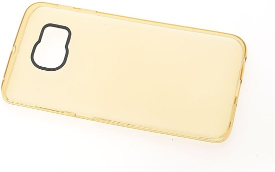 Backcover hoesje voor Samsung Galaxy S6 Edge+ - Transparant