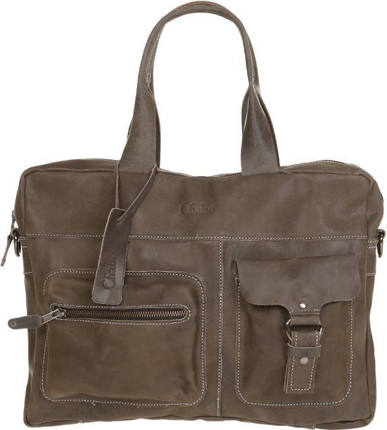 ef1e9359538 bol.com | Chabo Bags Laptopbag Best Basics Elephant Grey