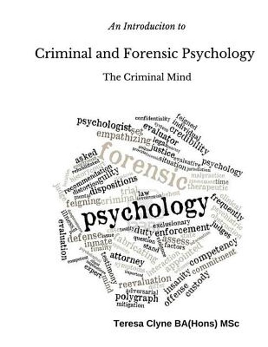 an introduction to the analysis of forensic psychology Welcome to the sage edge site for introduction to forensic psychology, fifth editionthe sage edge site for introduction to forensic psychology by curt r bartol and anne m bartol offers a robust online environment you can access anytime, anywhere, and features an impressive array of free tools and resources to keep you.