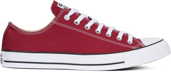 Laag Star Converse All Maroon Sneakers WqCa8Bxw6a