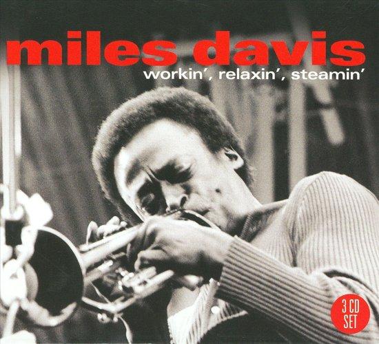 CD cover van Workin, Relaxin,  Steamin van Miles Davis