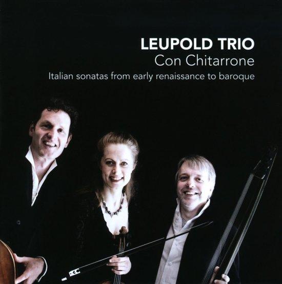 Con Chitarrone - Italian Sonatas From Early Renaissance
