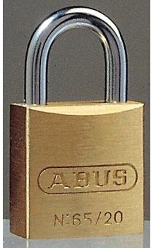 Abus 65/20 - Hangslot - 20x34x10 mm