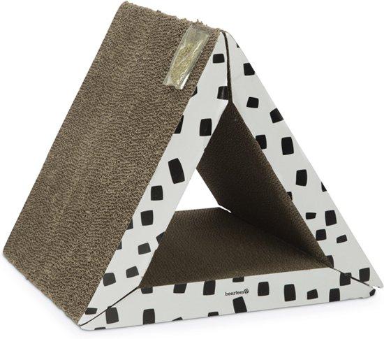 Beeztees Triangle Krabplank - 40 x 40 x 35 cm