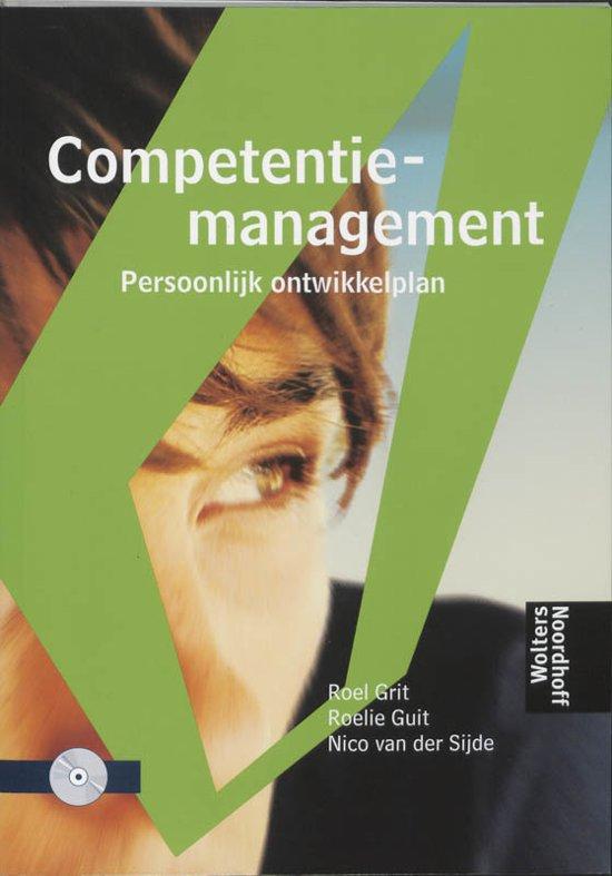 Boek cover Competentiemanagement van E.A Grit (Onbekend)