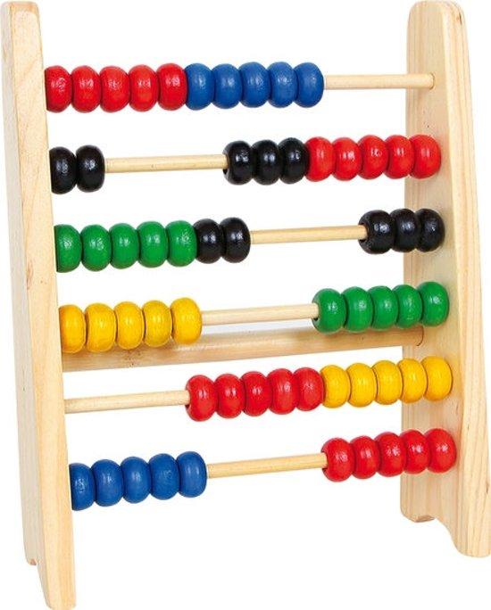Afbeelding van Houten telraam small - Houten speelgoed vanaf 4 jaar speelgoed