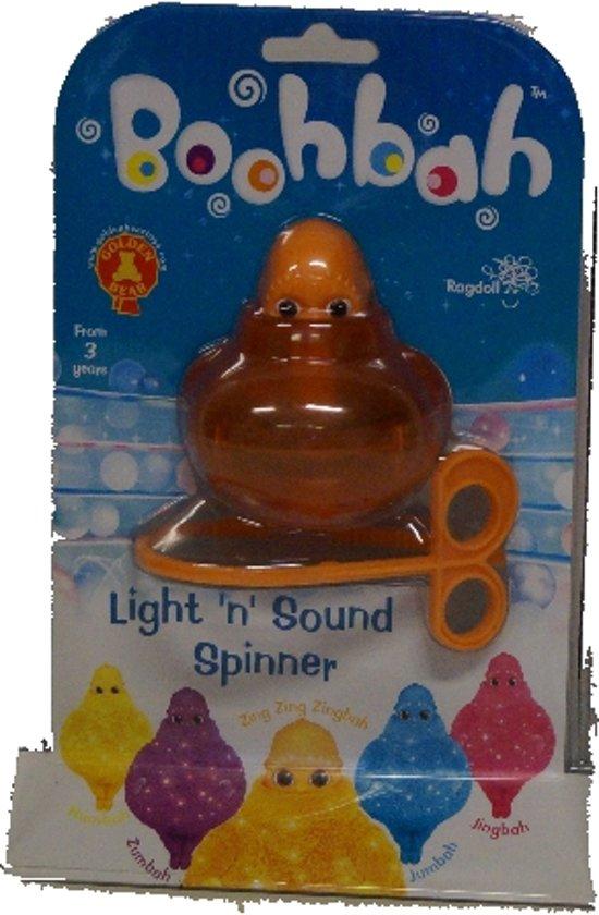 Afbeelding van het spel Boohbah Light 'n sound spinner - Oranje