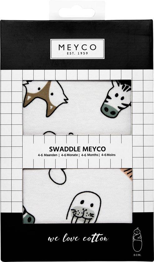 SwaddleMeyco Inbakerdoek - 4-6 maanden - Animal