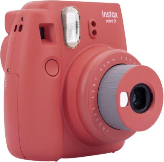 Fujifilm Instax Mini 9 - Poppy Red
