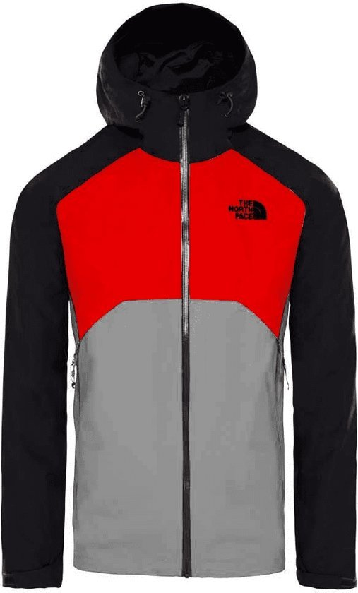 Green High Heren Asphalt Rise Jas Face Grey The North Stratos Jacket Primary PwnRqB