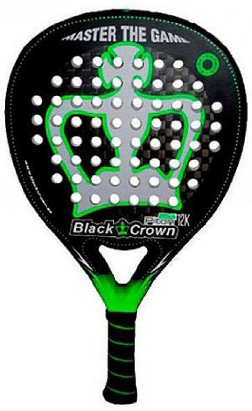 Black Crown Piton Attack 12K padel racket