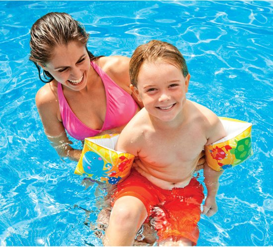 Intex zwembandjes - zwemvleugels -  Tropical Buddies 23x15cm
