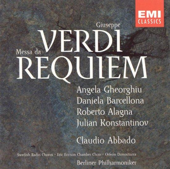 Verdi: Messa da Requiem / Abbado, Gheorghiu, Barcellona, Alagna et al
