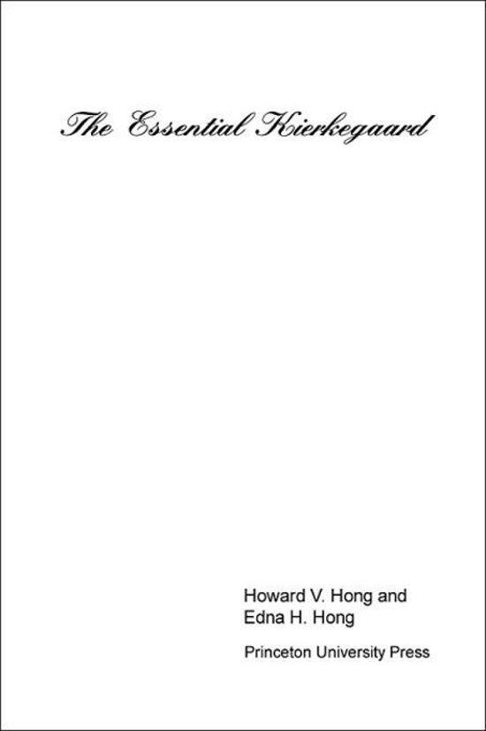 The Essential Kierkegaard Pdf