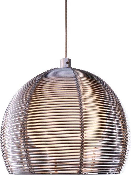 Zoomoi Filo Ball - Hanglamp - Metaal - Zilver