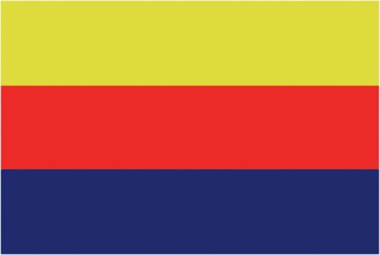 Talamex Noord-Hollandse vlag 30 x 45 cm
