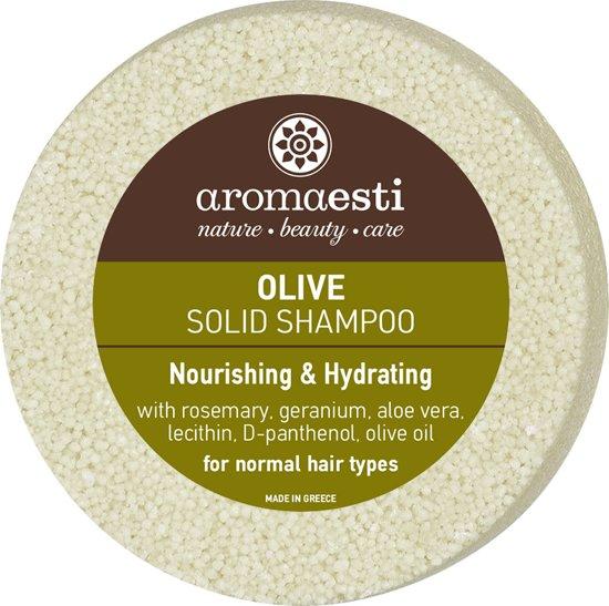 Aromaesti Solid Shampoo Bar Olijfolie - normaal haar - 2 stuks