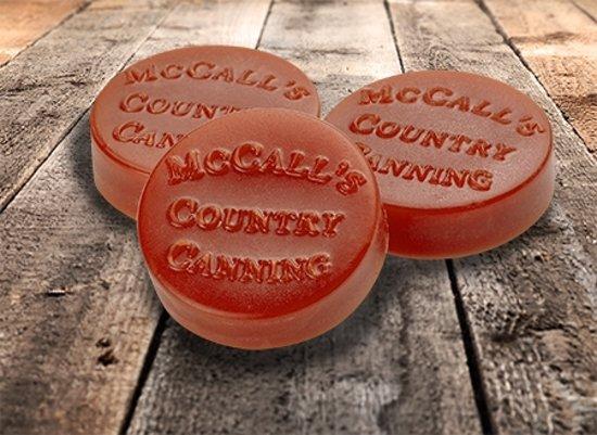 McCall's Candles Wax Melt Button Fallbrook Farms 3 stuks