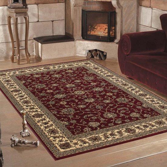 Vloerkleed klassiek Marrakesh perzisch patroon rood 300x400 cm