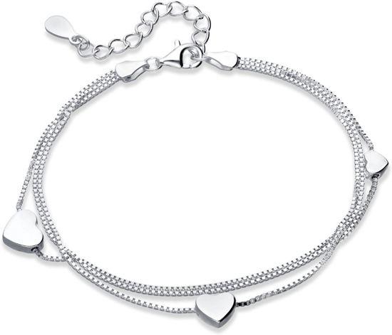Pre-order Zilveren armband Floating Hearts