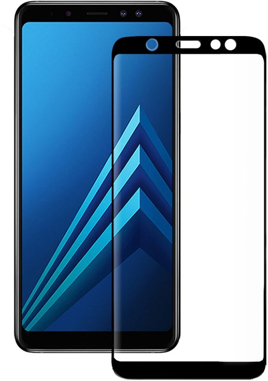 Eiger Tempered Glass Screenprotector voor Samsung Galaxy A6 (2018)