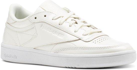 6e3dc9310df bol.com | Reebok Sneakers Club C 85 Patent Dames Wit Maat 36