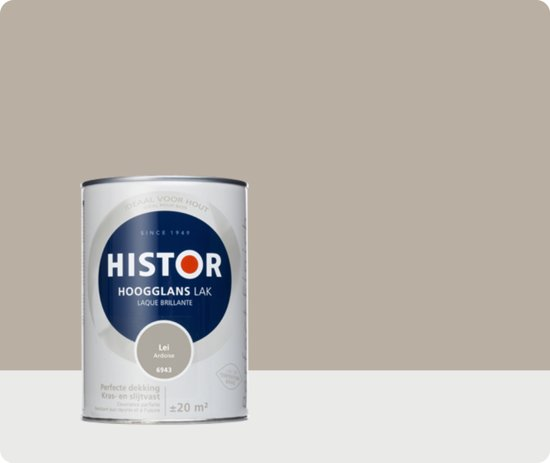 Histor Perfect Finish Lak Hoogglans 1,25 liter - Lei