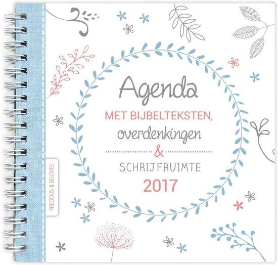 Agenda 2017 met bijbelteksten overdenkingen en schrijfruimte
