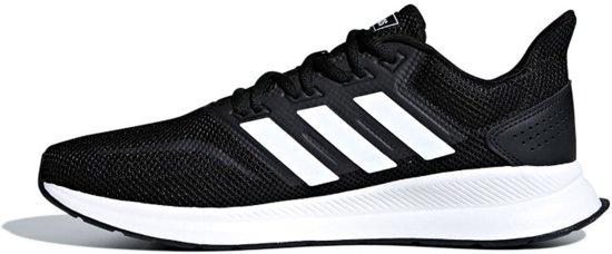 1 Zwarte Falcon Maat 45 Adidas 3 Heren Run FYxqzzZ