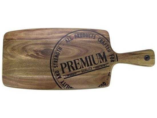 Acacia Plank 48x19x1,8cm m/handvat