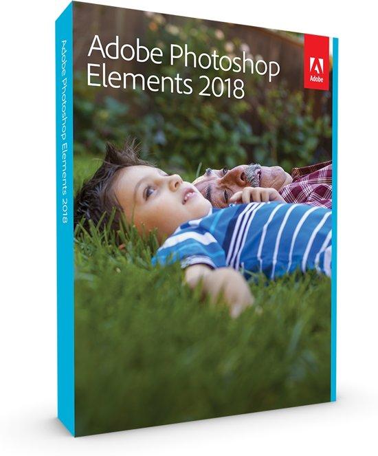 Adobe Photoshop Elements 2018 - Nederlands/ Engels/ Frans - Windows