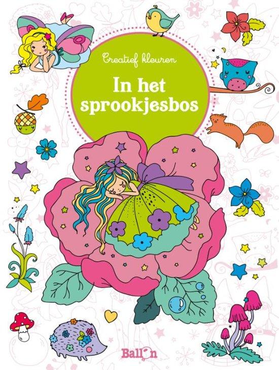 Creatief kleuren Junior 0 - In het sprookjesbos