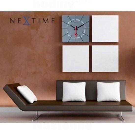 NeXtime Stazione Wandklok 35 x 35 cm