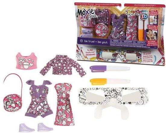 Bolcom Moxie Girlz Art Titude 3d My Fashion Design Kit