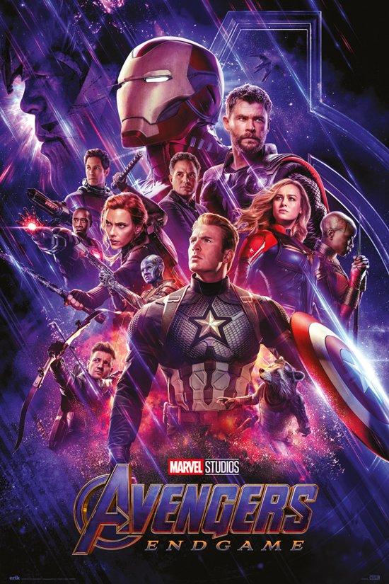 Poster  Avengers Endgame 61x91,5cm Marvel.