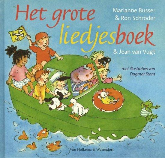 Cover van het boek 'Het grote liedjesboek' van Marianne Busser