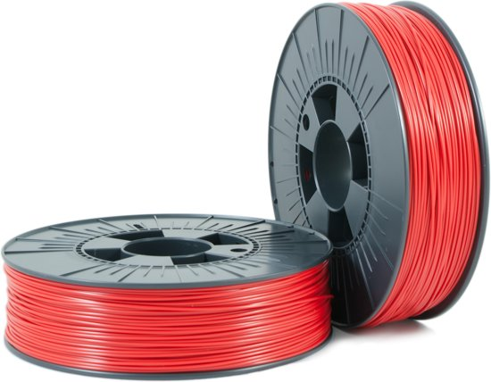 ABS 1,75mm  red 2 ca. RAL 3001 0,75kg - 3D Filament Supplies