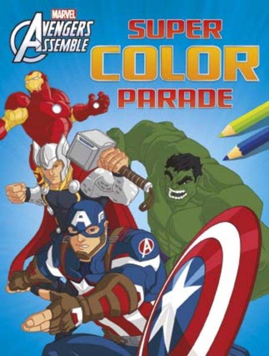 Afbeelding van het spel Avengers assemble super color parade