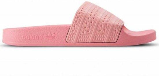 adidas adilette roze wit cf9cc9