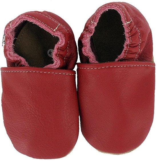 Hobea babyslofjes unifarben rot Maat: 26-27 (17,5 cm)