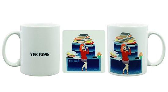 Bolcom Cadeau Voor Vrouw Kantoor Yes Boss Mok