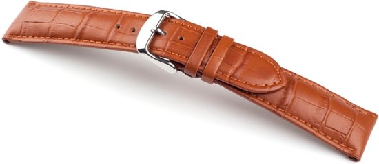 Horlogeband Arizona Cognac - 19mm